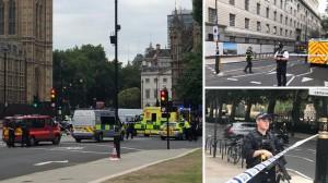 Λονδίνο: Τρομοκρατική επίθεση το αυτοκίνητο που έπεσε στην πύλη του Κοινοβουλίου