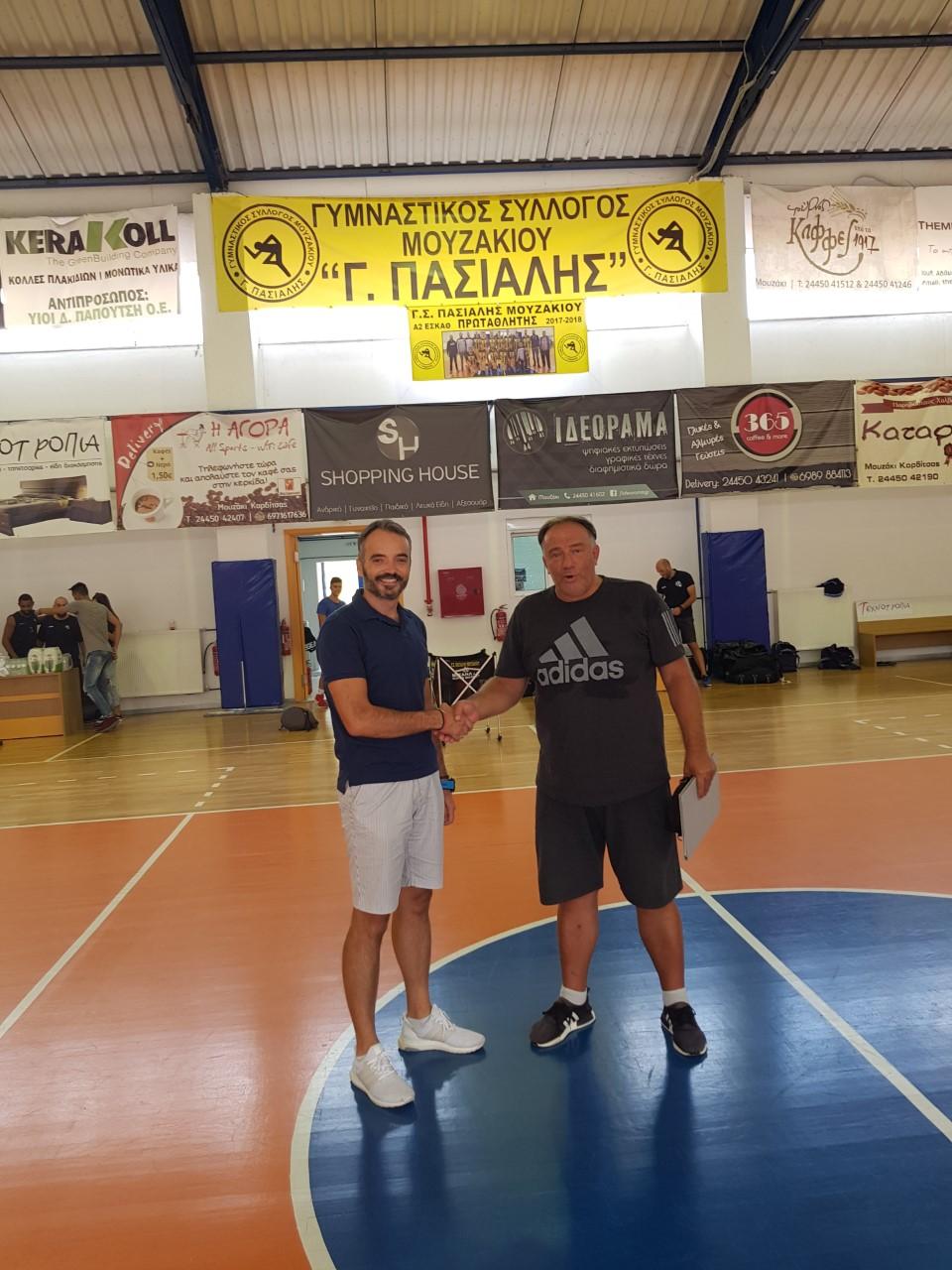 O Κοσμάς νέος προπονητής στον ΓΣ Μουζακίου