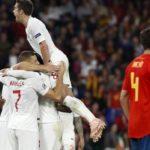 Η Αγγλία έσπασε το αήττητο της Ισπανίας-Αποτελέσματα
